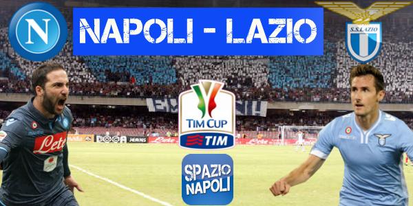 Copertina Napoli-Lazio Coppa Italia