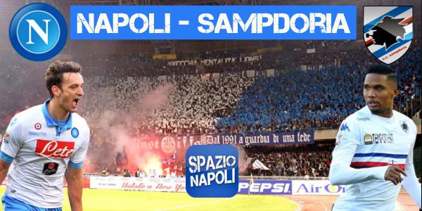 Copertina Napoli-Sampdoria