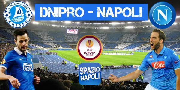 Copertina Dnipro-Napoli
