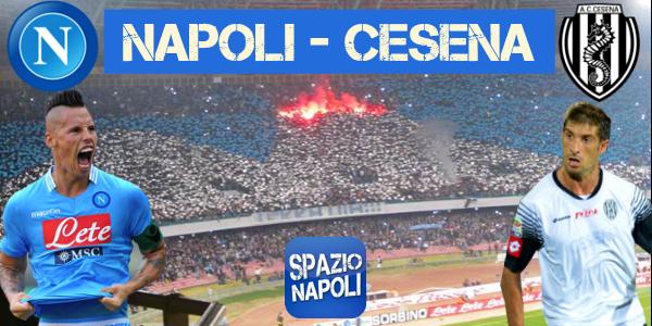 Copertina Napoli-Cesena