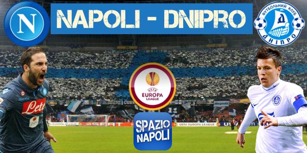 Copertina Napoli-Dnipro