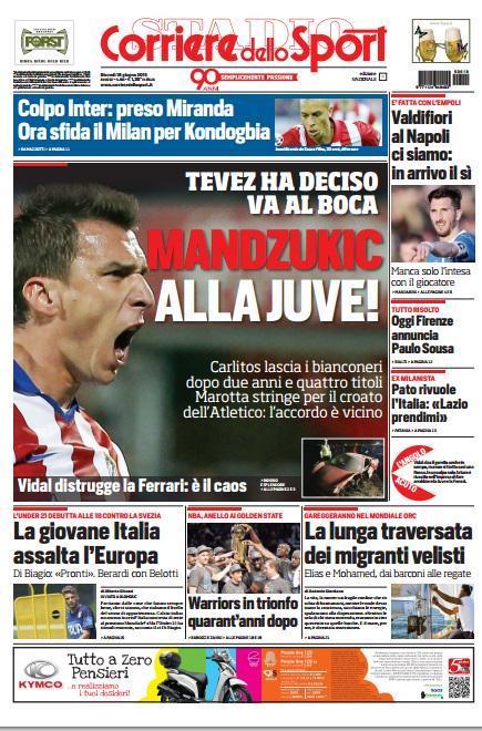 Corriere dello Sport 18-06-2015