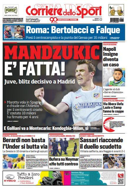Corriere dello Sport 19-06-2015