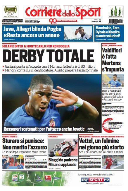 Corriere dello Sport 20-06-2015