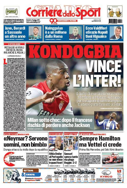 Corriere dello Sport 21-06-2015
