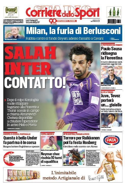 Corriere dello Sport 22-06-2015