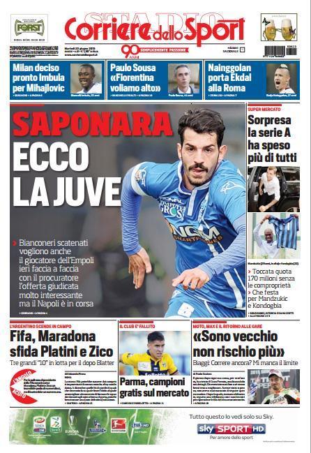Corriere dello Sport 23-06-2015