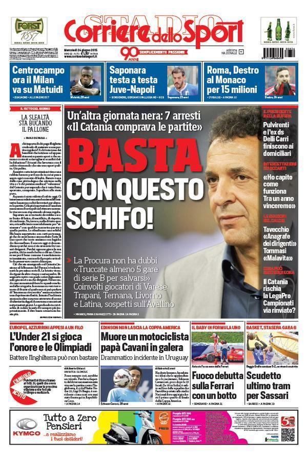 Corriere dello Sport 24-06-2015