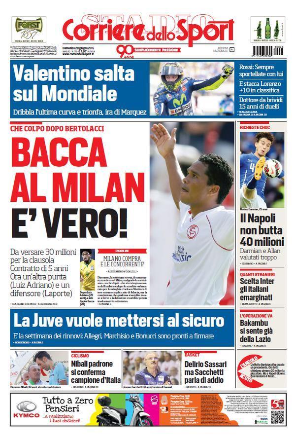 Corriere dello Sport 28-06-2015