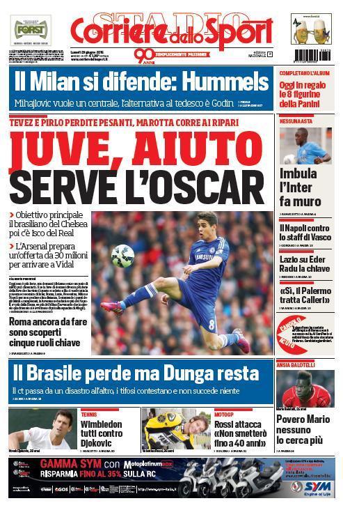 Corriere dello Sport 29-06-2015