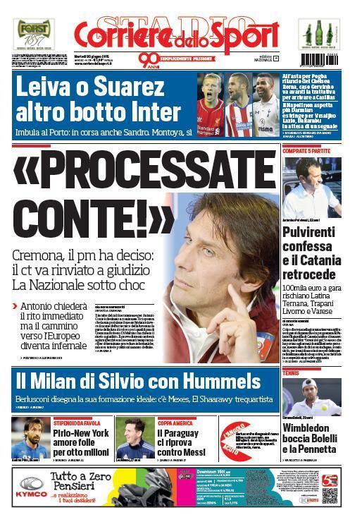 Corriere dello Sport 30-06-2015