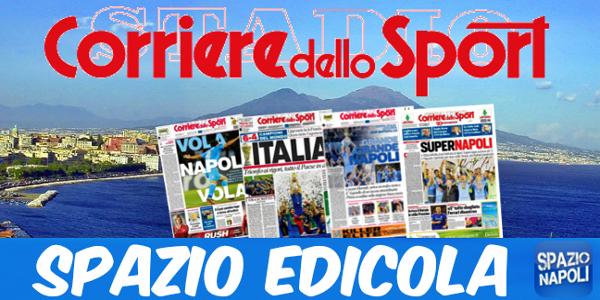 Edicola Corriere dello sport