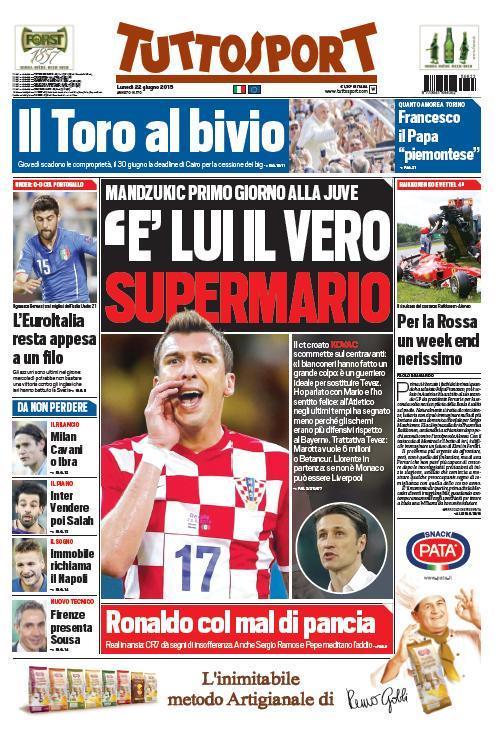 Tuttosport 22-06-2015