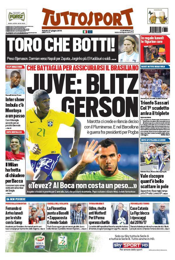 Tuttosport 27-06-2015