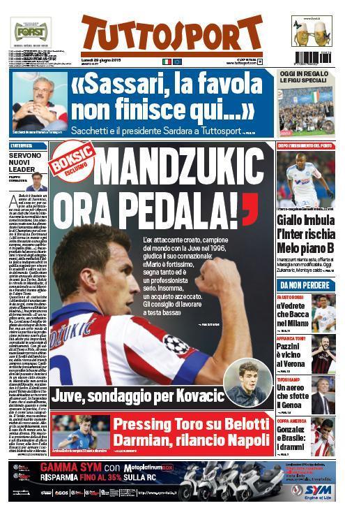 Tuttosport 29-06-2015
