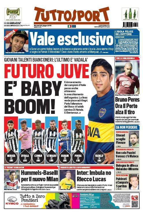 Tuttosport 30-06-2015