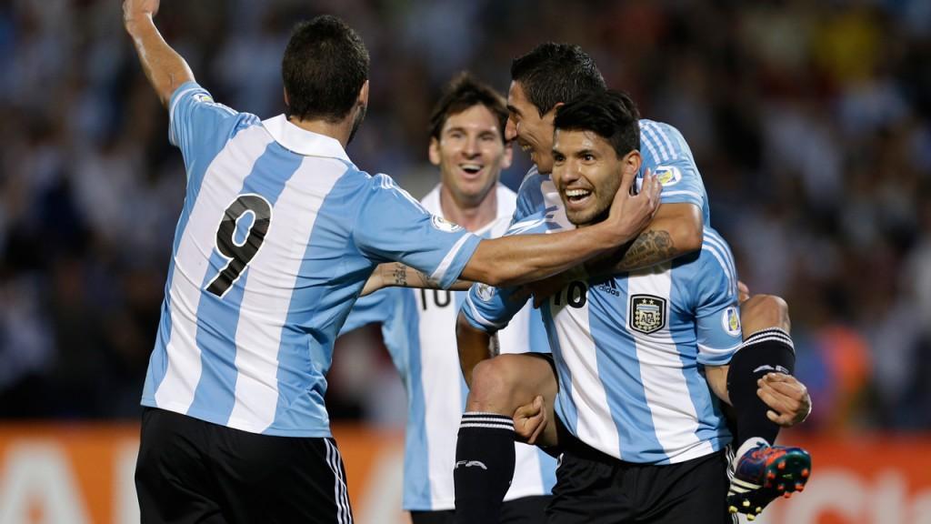 Copa America, un gol di Aguero decide il big match tra Argentina e Uruguay. Solo panchina per Higuain