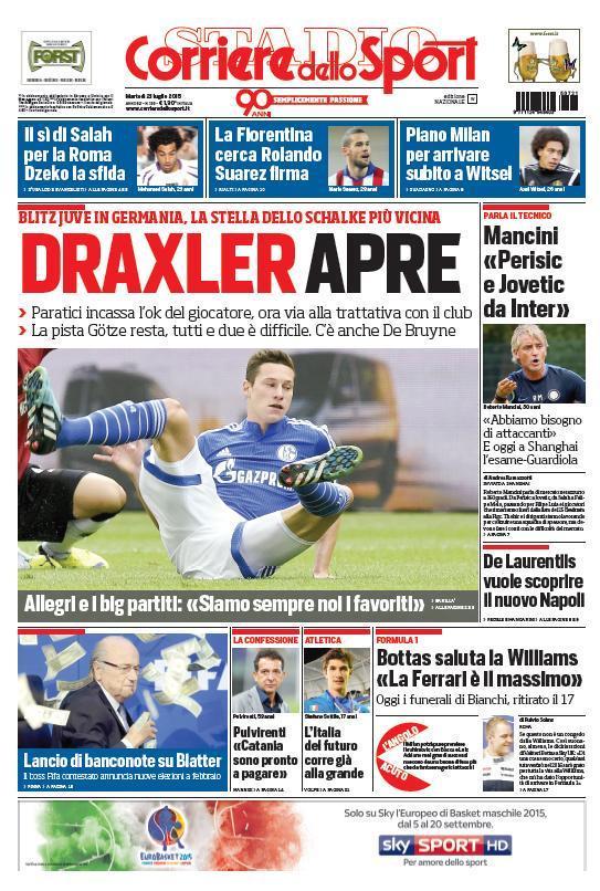 Corriere 21-07-2015