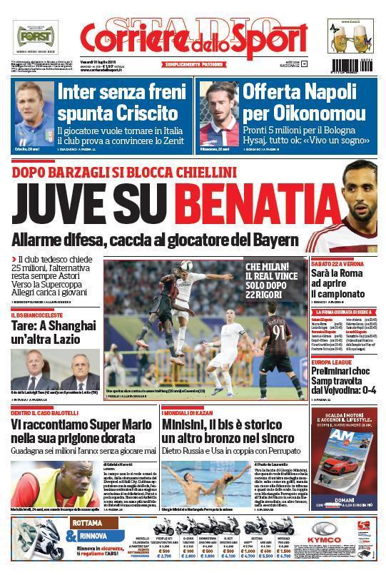 Corriere 31-07-2015