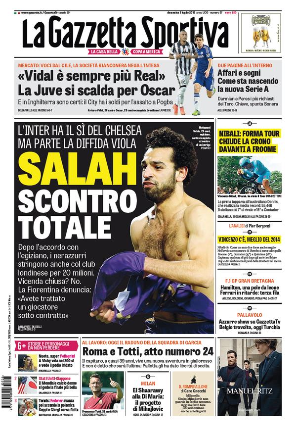 Gazzetta 05-07-2015