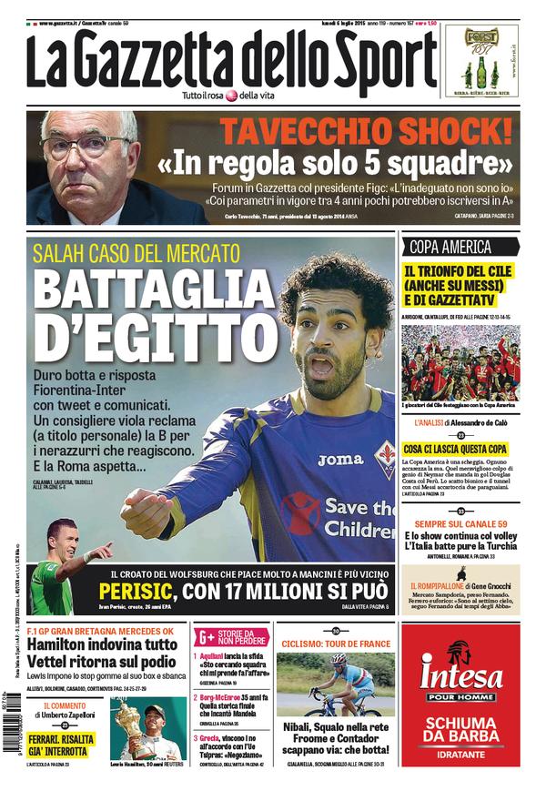 Gazzetta 06-07-2015