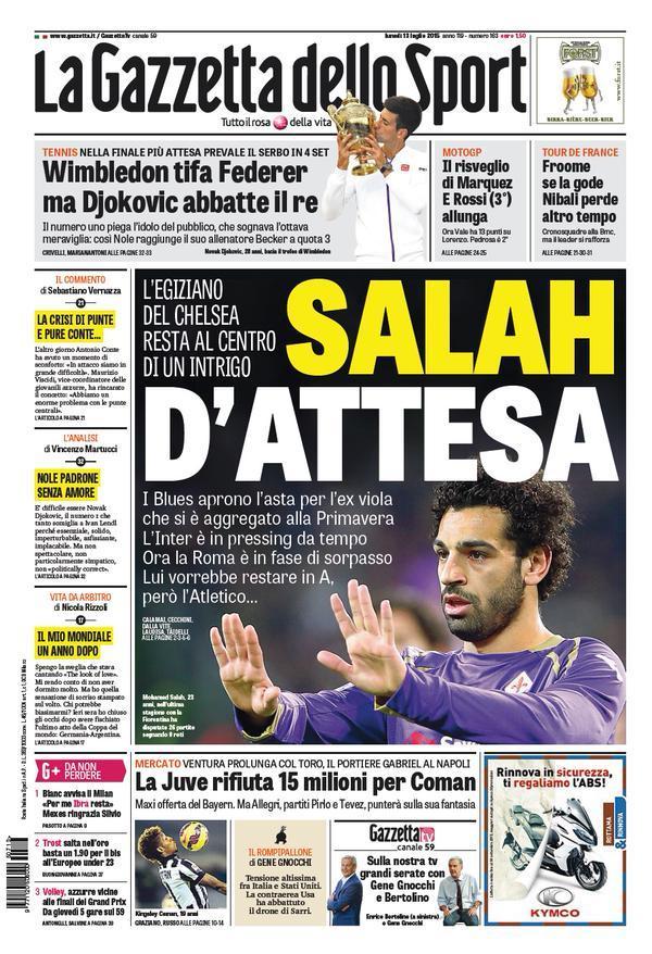 Gazzetta 13-07-2015