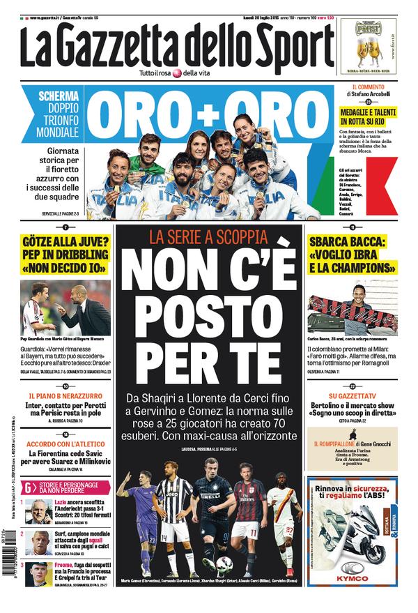 Gazzetta 20-07-2015