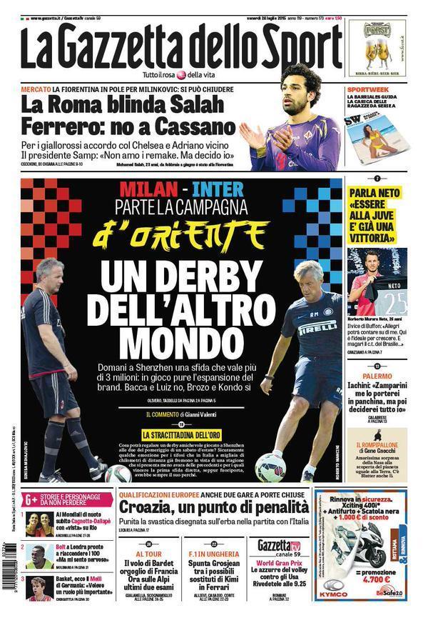 Gazzetta 24-07-2015