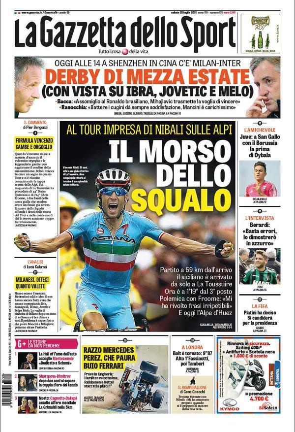 Gazzetta 25-07-2015
