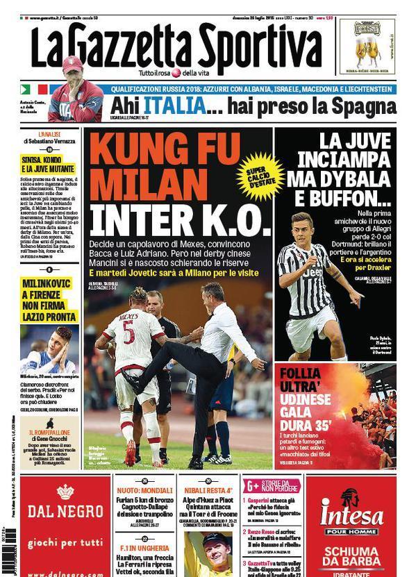 Gazzetta 26-07-2015
