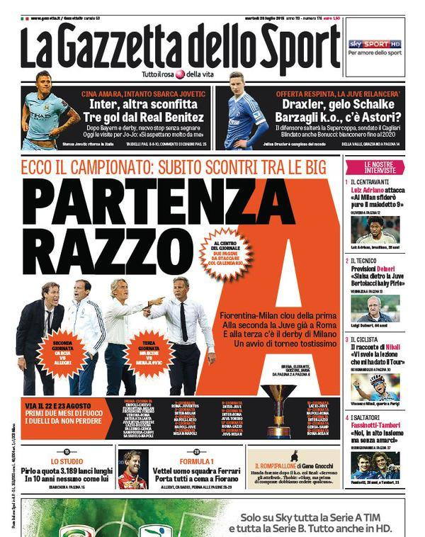 Gazzetta 28-07-2015