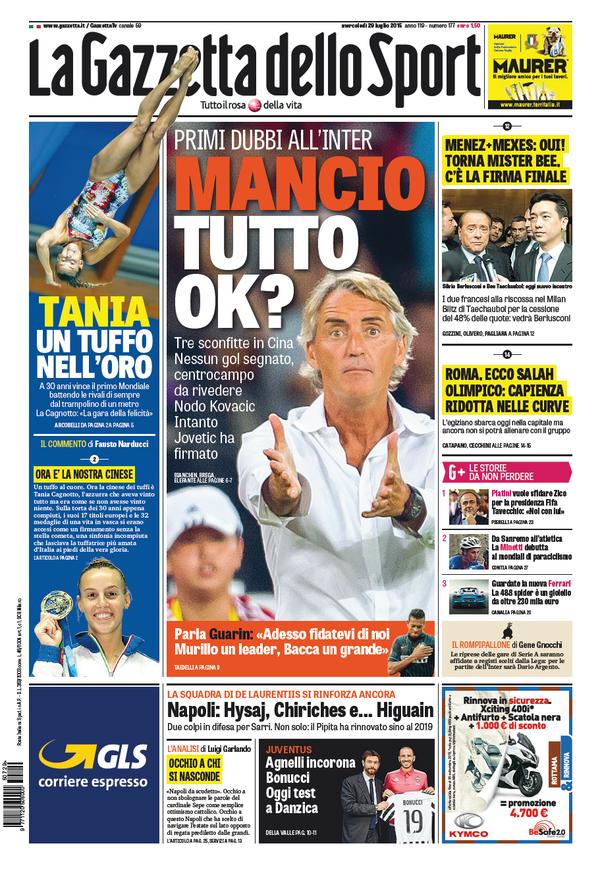 Gazzetta 29-07-2015