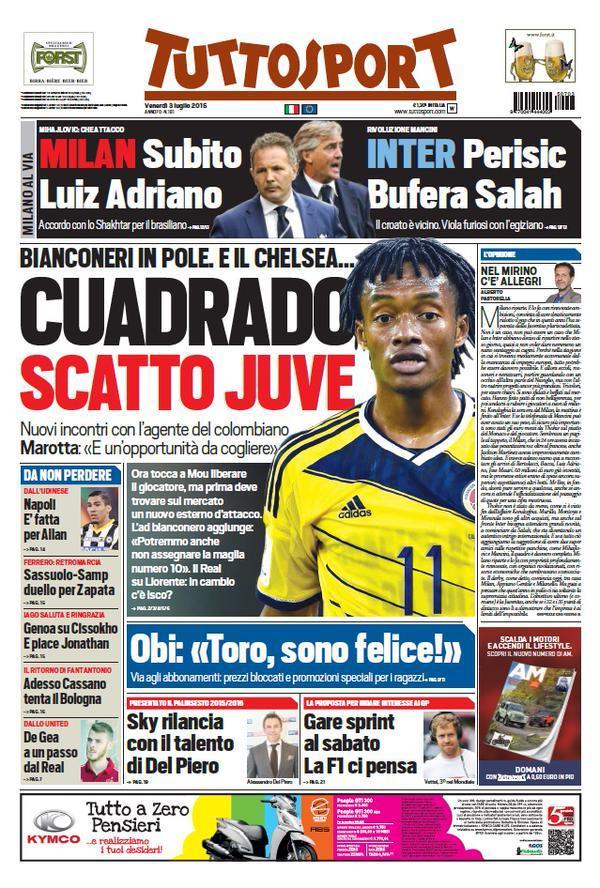 Tuttosport 03-07-2015