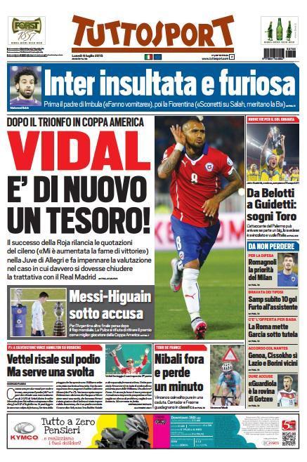 Tuttosport 06-07-2015