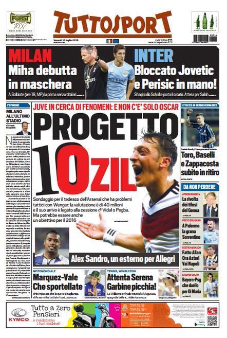 Tuttosport 10-07-2015