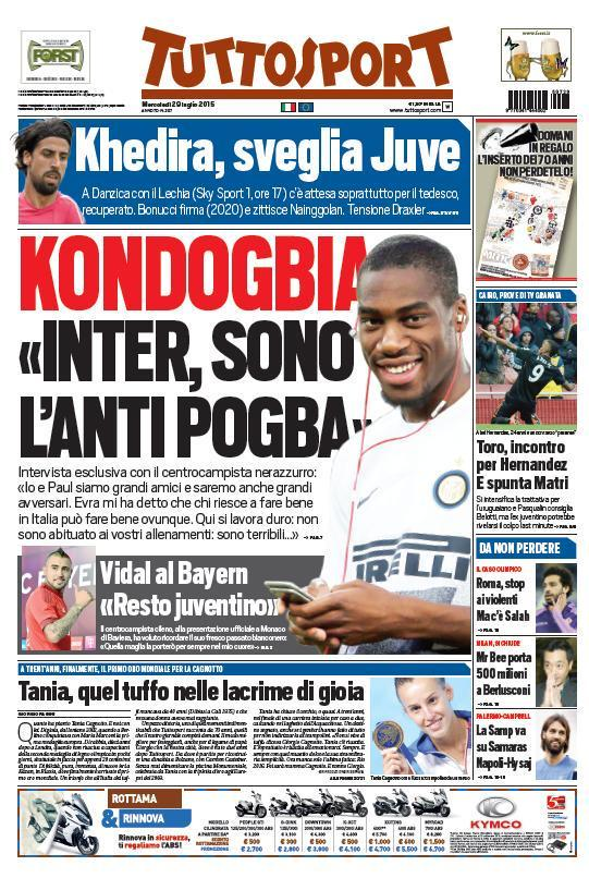 Tuttosport 29-07-2015