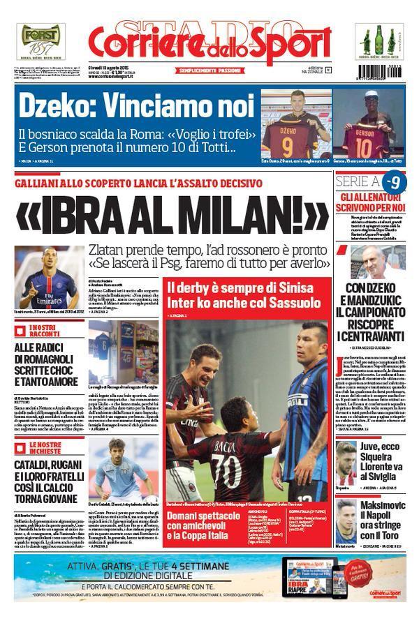 Corriere 13-08-2015