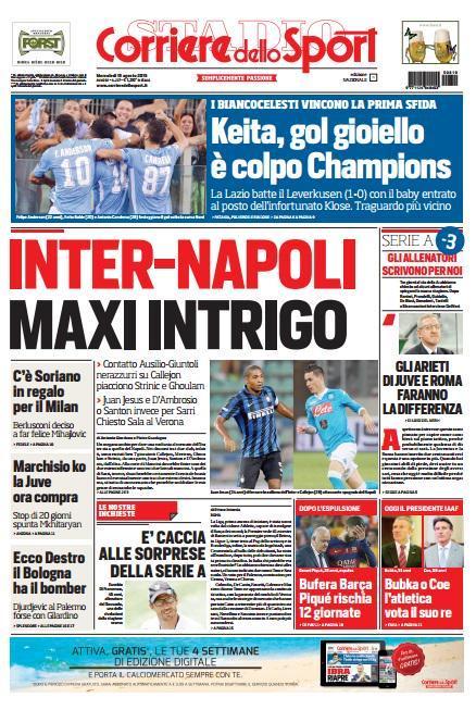 Corriere 19-08-2015