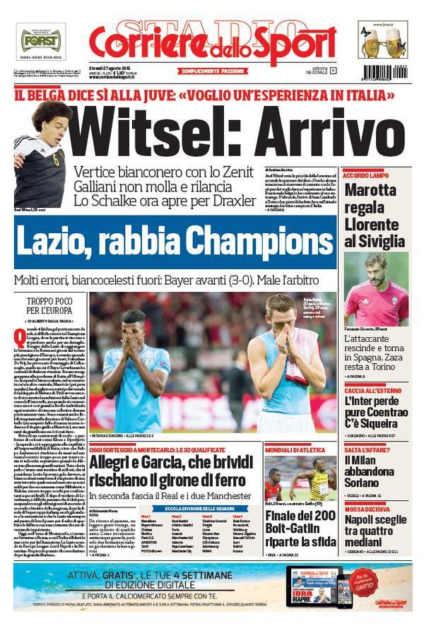 Corriere 27-08-2015