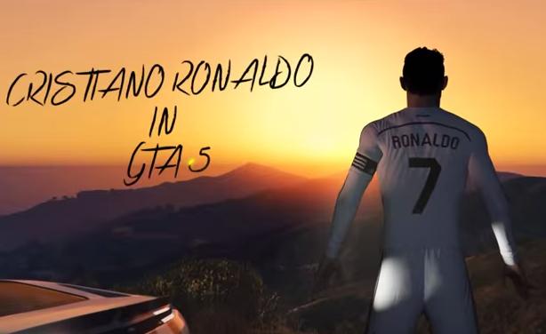 Cristiano Ronaldo GTA