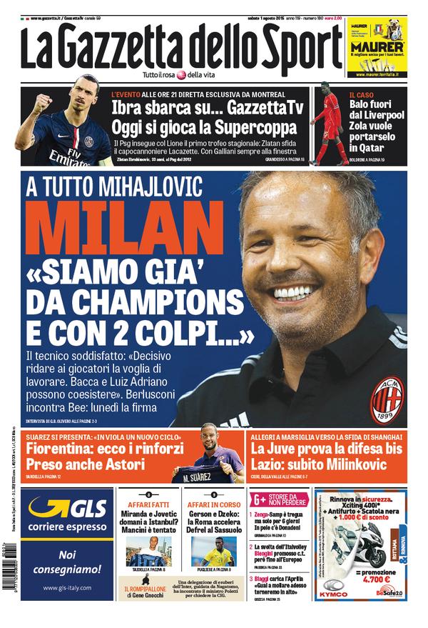 Gazzetta 01-08-2015