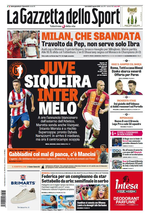 Gazzetta 05-08-2015