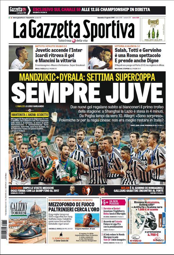 Gazzetta 09-08-2015