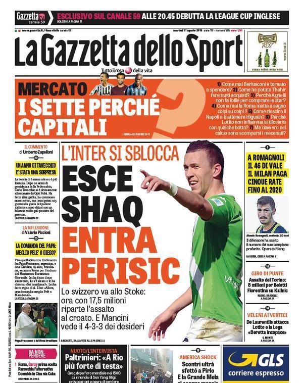 Gazzetta 11-08-2015