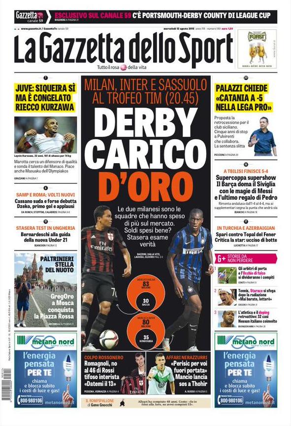 Gazzetta 12-08-2015