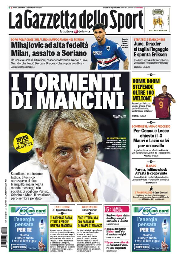 Gazzetta 14-08-2015