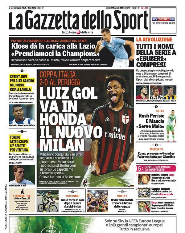 Gazzetta 18-08-2015