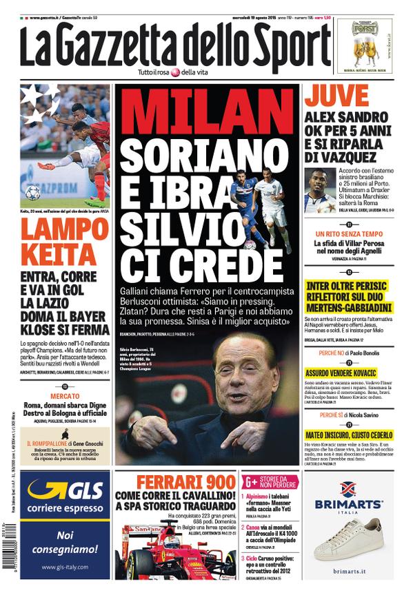 Gazzetta 19-08-2015