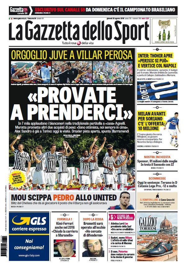 Gazzetta 20-08-2015