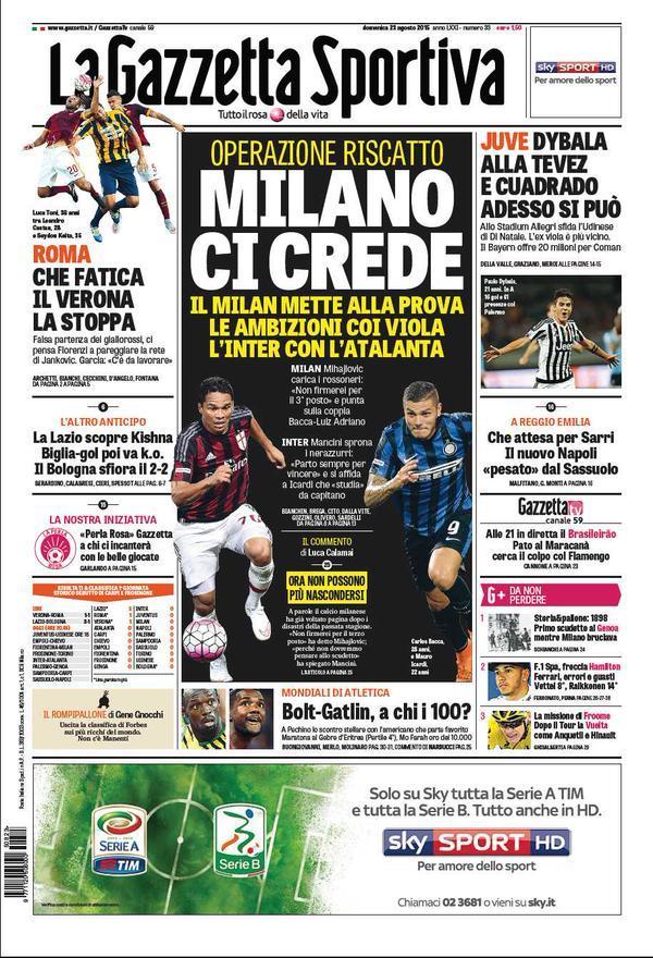 Gazzetta 23-08-2015